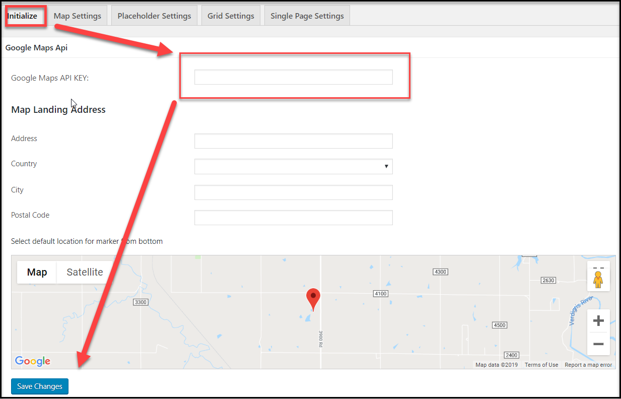 how to get google map api key
