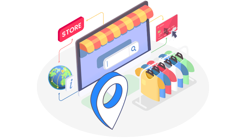 Gives your store visibility online