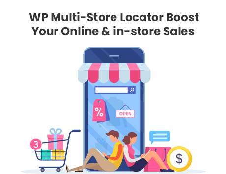 How Using a Multi-Store Locator Can Boost Your Online & in-store Sales